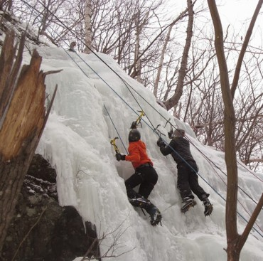 Immortials Go Ice Climbing