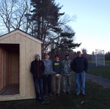 Simsbury High Benefits from Troop 175 Eagle Project
