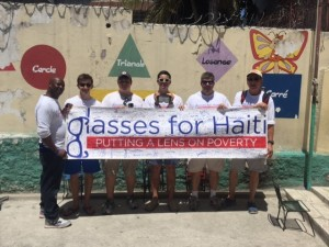 Glass for Haiti