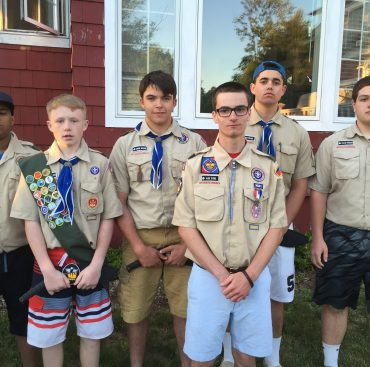 Troop 175 Announces Scout Leadership for 2016-2017
