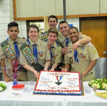 Troop 175 Confirm New Eagle Scouts