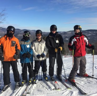 Troop 175 Scouts and families enjoy skiing at Sunday River