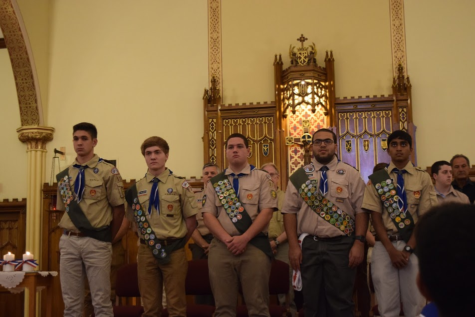 Simsbury Boy Scout Troop 175 Newest Eagle Scouts