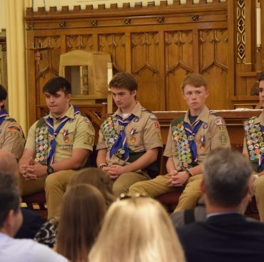 Simsbury Troop 175 Welcomes Five New Eagle Scouts.