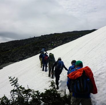 Troop 175 Scouts Hike Mt Washington and Presidential Traverse