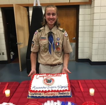 Simsbury's Scout Troop 175's Newest Eagle Scout