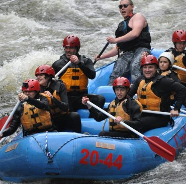 Troop 175 Takes To The White Water