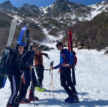 Troop 175 Hike and Ski Tuckerman Ravine